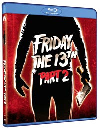 Friday the 13th Part 2 Blu-ray packaging