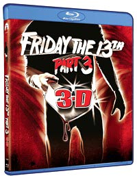 Friday the 13th Part 3 Blu-ray packaging