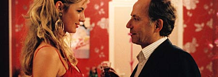 Fabrice Luchini and Louise Bourgoin in The Girl From Monaco