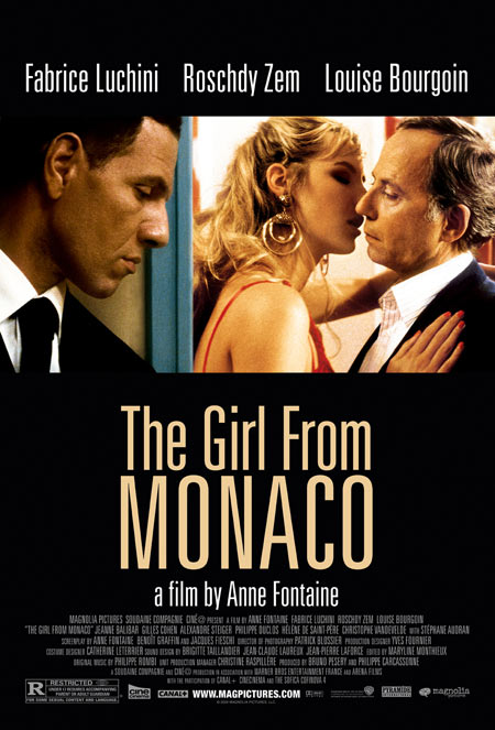 The Girl From Monaco U.S. release poster