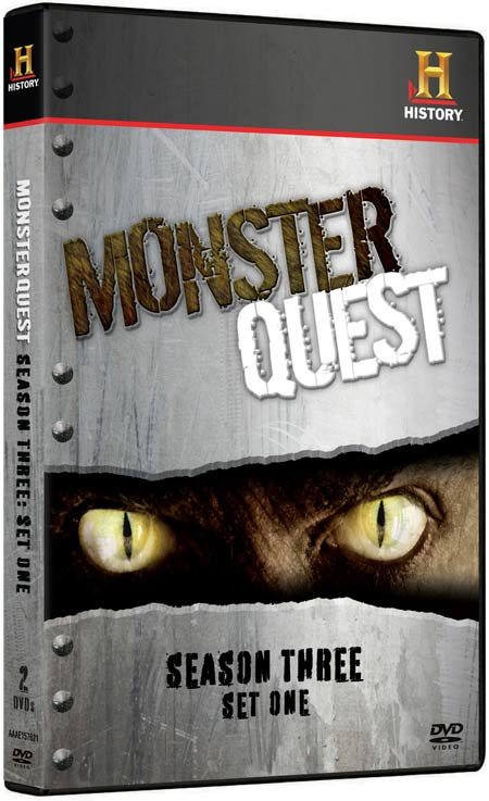 MonsterQuest: Season Three - Set One on DVD