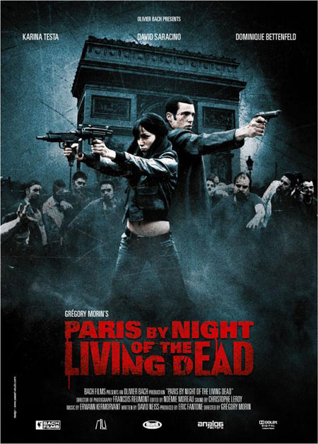 Paris By Night Of The Living Dead movie poster