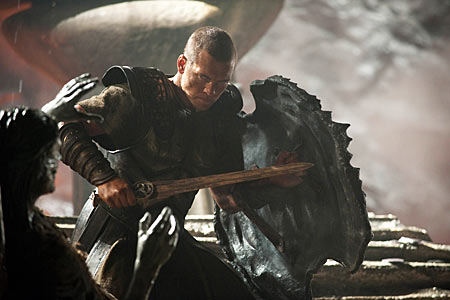 Sam Worthington as Perseus in Clash of the Titans