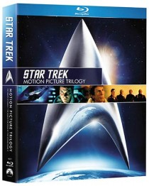 Star Trek Motion Picture Trilogy Blu-ray packaging