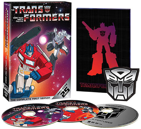 The Transformers: The Complete First Season 25th Anniversary Edition