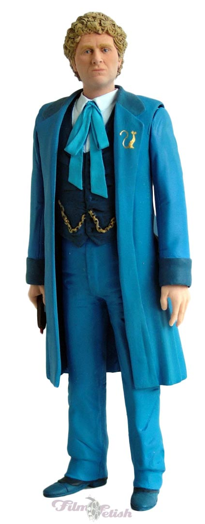 Sixth Doctor with Real Time Blue coat