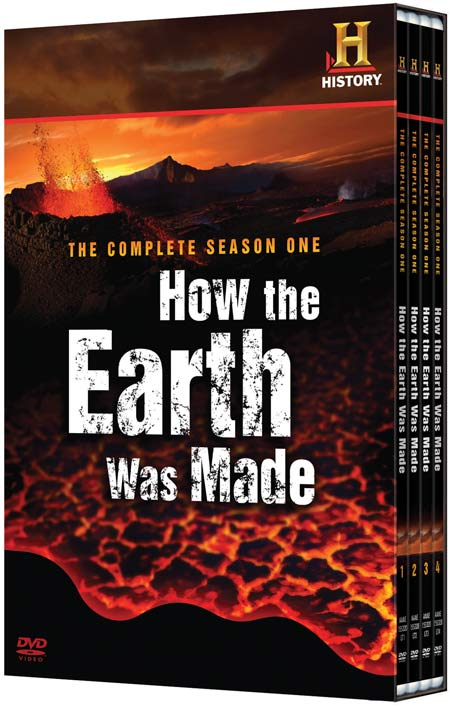 How The Earth Was Made DVD disc packaging