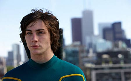 Aaron Johnson as Dave Lizewski in Kick-Ass