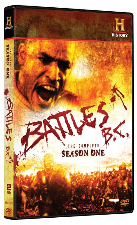 Battles BC: The Complete Season One DVD packaging