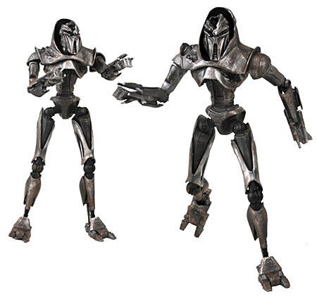 Exclusive Battlestar Galactica Battle-Damaged Cylon Action Figure Two-Pack