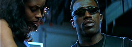 NBushe Wright and Wesley Snipes in Blade