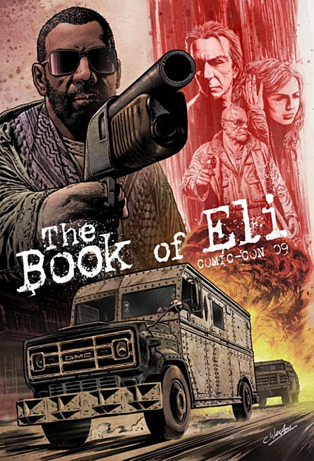 Book of Eli Comic Con exclusive movie poster