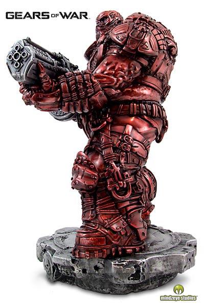 Gears of War Boomer RAGE Bronze Collectors Statue