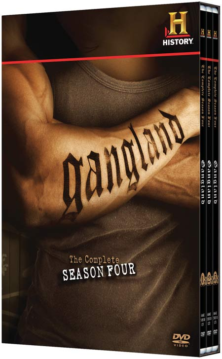 Gangland: The Complete Season Four DVD packaging