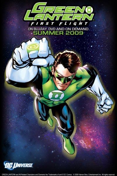 Green Lantern: First Flight promo poster