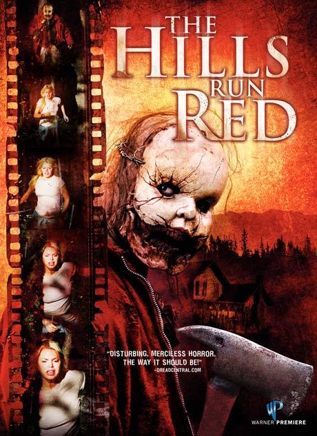 The Hills Run Red DVD box art