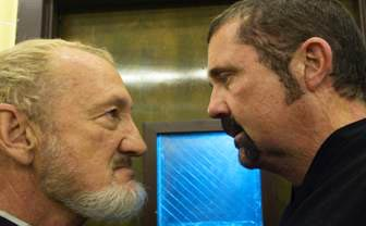 Robert Englund and Kane Hodder in Fear Clinic