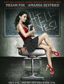 Jennifer's Body movie poster showing long Megan Fox heels and legs