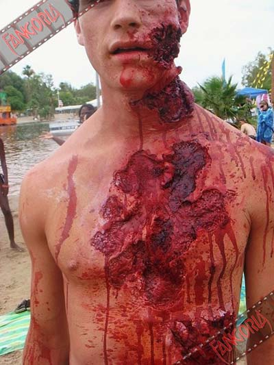 Piranha 3D set photo