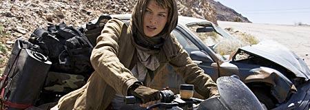Milla Jovovich as Alice in Resident Evil: Extinction