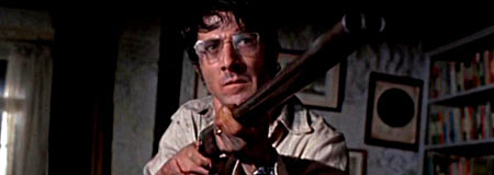Dustin Hoffman in the 1971 original Straw Dogs