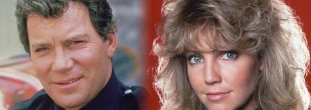 William Shatner and Heather Locklear in T.J. Hooker