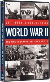 Win one of two copies of the Ultimate Collections: World War II: The War In Europe and the Pacific 4 disc DVD set
