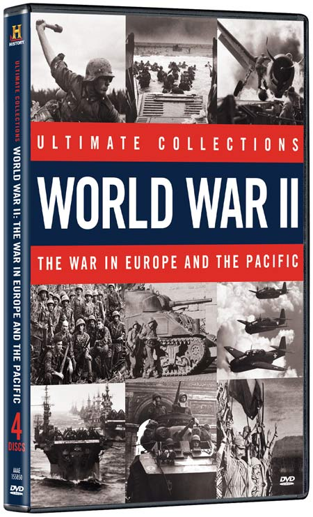 Ultimate Collections: World War II: The War In Europe and the Pacific DVD packaging