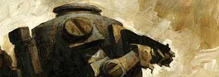 Cover detail from World War Robot Illustrated History