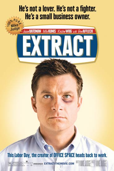 Jason Bateman character poster for Extract