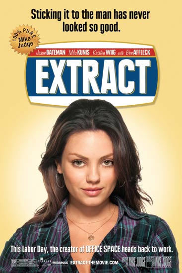 Mila Kunis character poster for Extract