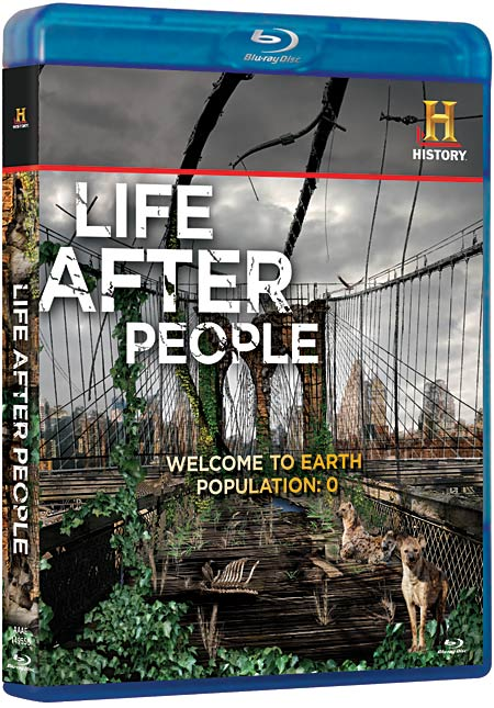 Life After People Blu-ray packaging