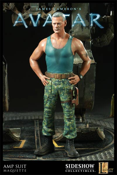 Sideshow Collectibles AMP Suit featuring Col. Quaritch