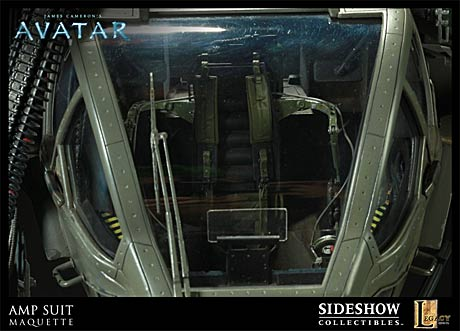 Sideshow Collectibles AMP Suit interior details
