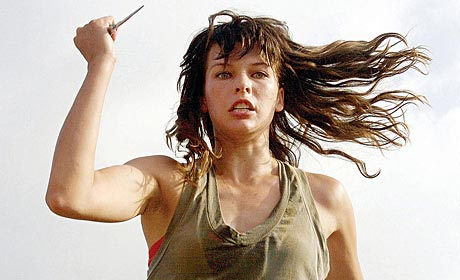 Milla Jovovich is on a not-so-Perfect Getaway