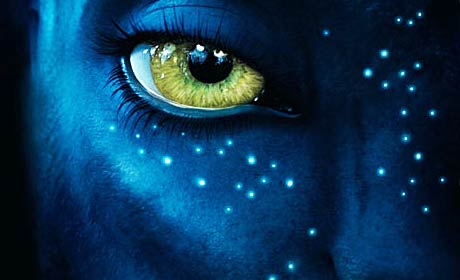 Avatar San Diego Comic-Con movie poster detail