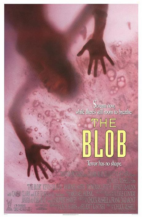 The Blob 1988 movie poster