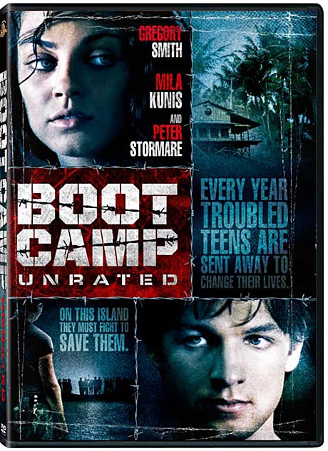 Boot Camp DVD packaging