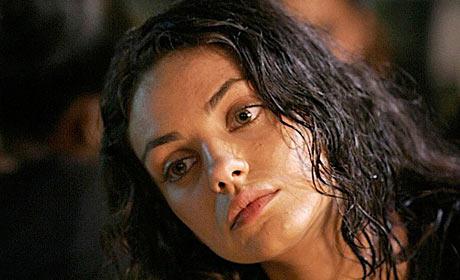 Mila Kunis in Boot Camp