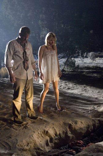 Thomas Jane and Lauren German in Dark Country
