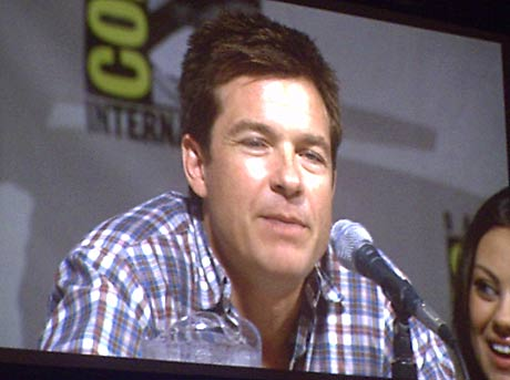 Jason Bateman at the San Diego Comic-Con 2009 Extract panel. Photo by Rene Carson