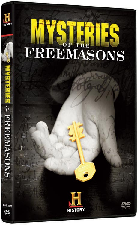 Mysteries of the Freemasons DVD packaging