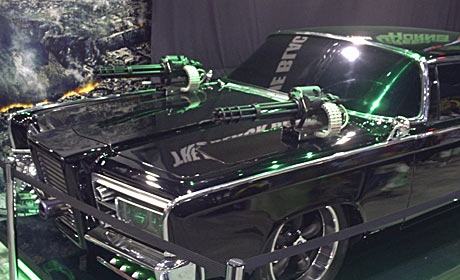 Green Hornet's vehicle Black Beauty