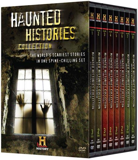 Haunted Histories DVD packaging