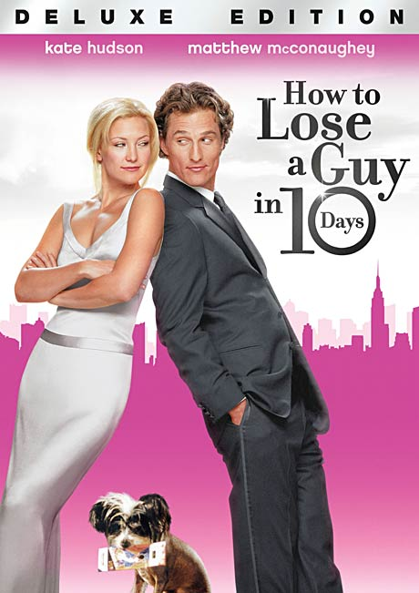 How To Lose A Guy in 10 Days DVD packaging
