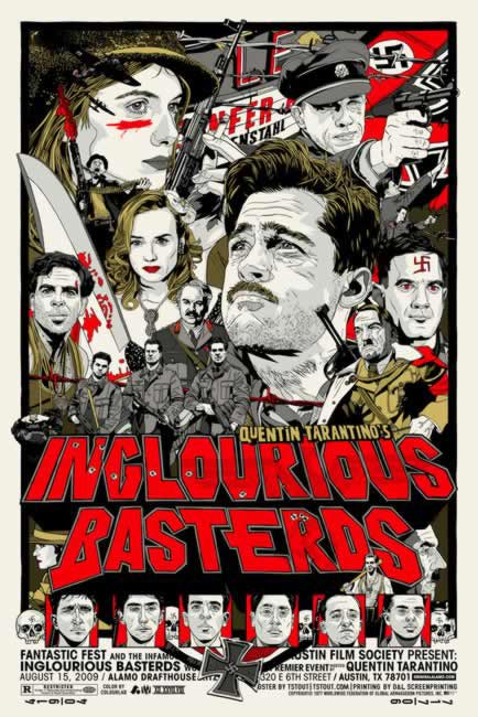 A new Inglourious Basterds poster to consider before watching the film tomorrow night