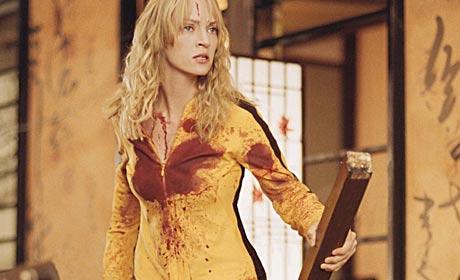 Uma Thurman played The Bride a.k.a. Beatrix Kiddo in Kill Bill