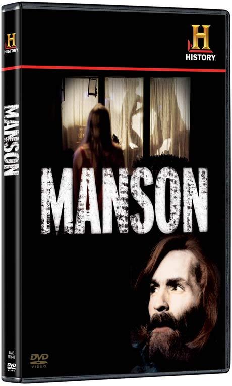 Manson DVD packaging