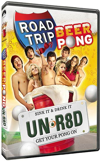 Road Trip Beer Pong DVD packaging