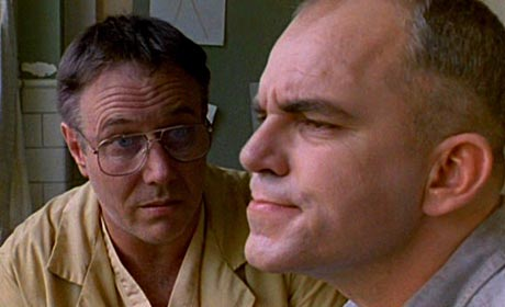 J.T. Walsh and Billy Bob Thornton in Sling Blade
